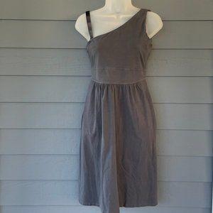 Altheta One Shoulder Organic Cotton Dress w/Bra